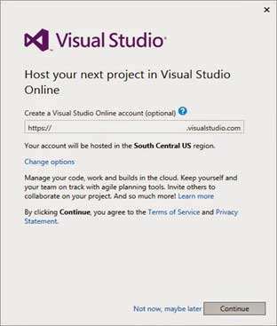 Jika Anda memiliki account di Visual Studio