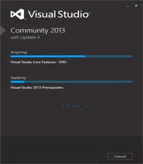 Proses Instal Visual Studio Terbaru
