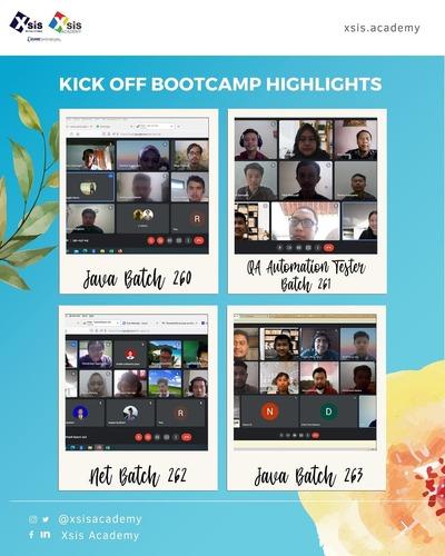 Bootcamp Xsis Academy Batch 260 - 263